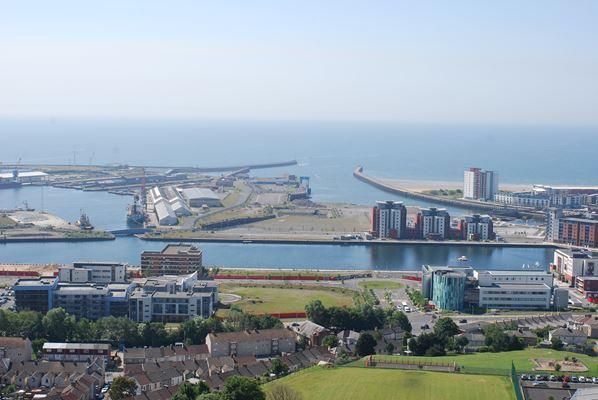 Cardiff and Swansea LANDMAP